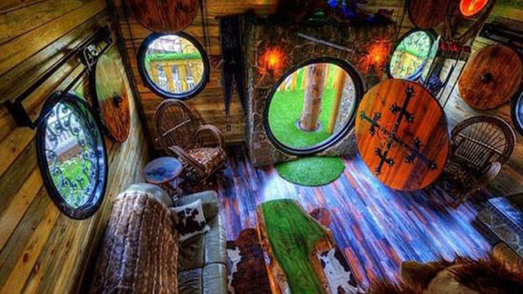 Espectacular casa de Hobbit, en alquiler en EEUU