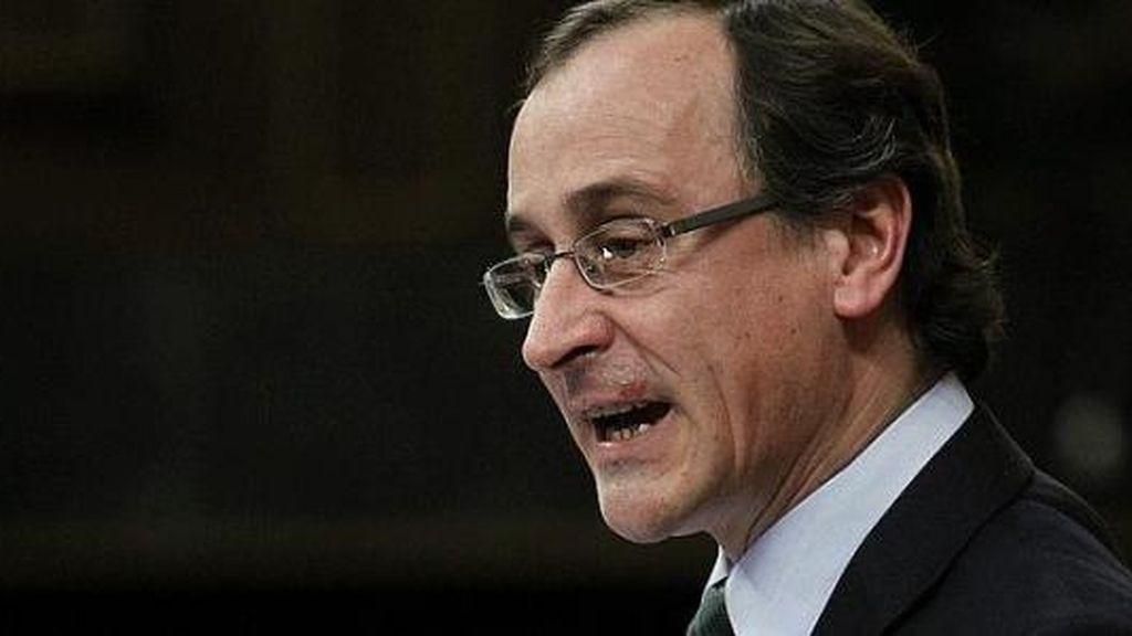 El portavoz del Grupo Parlamentario Popular en el Congreso, Alfonso Alonso