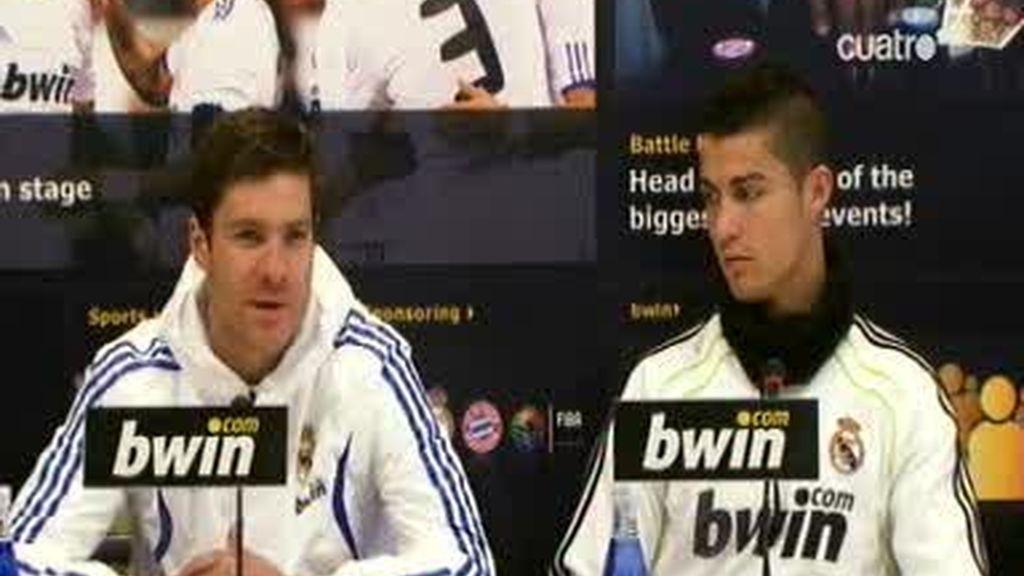 Cristiano Ronaldo y Xabi Alonso responden sobre el clásico