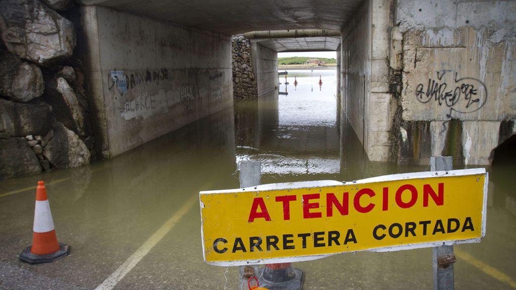 Inundaciones en Jerez de la Frontera