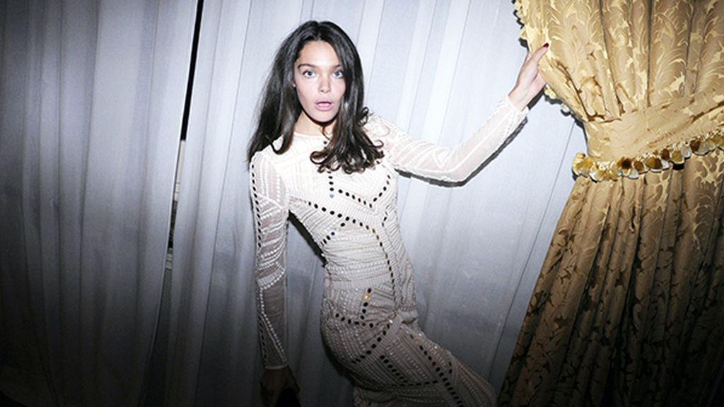 Ana Rujas llegó al Ritz con este bonito vestido de Assos