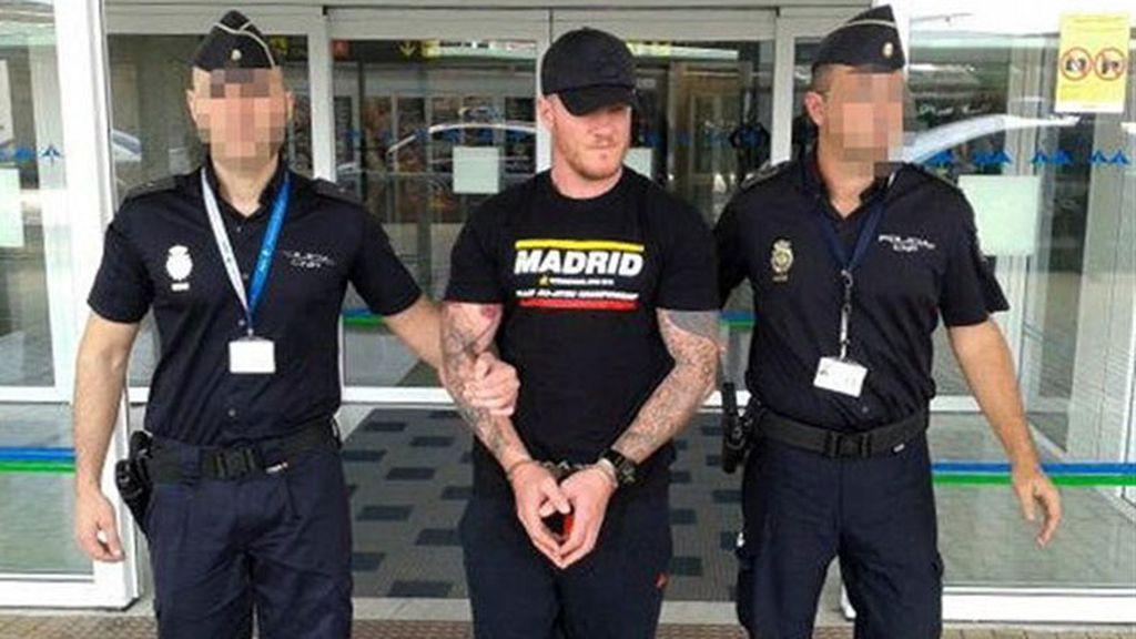 Detenido en Fuerteventura Shane Wallford