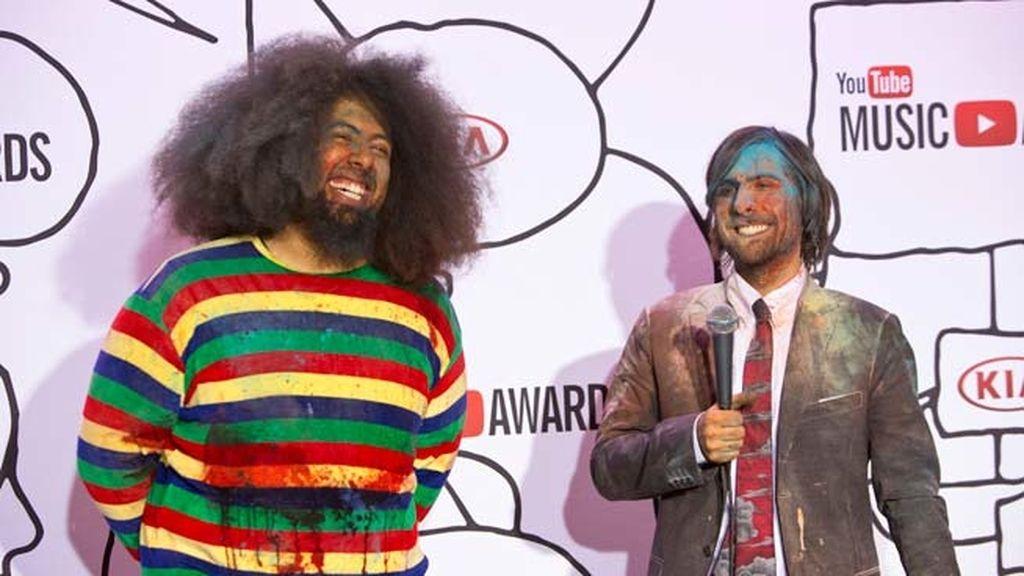 Reggie Watts y Jason Scwartzman