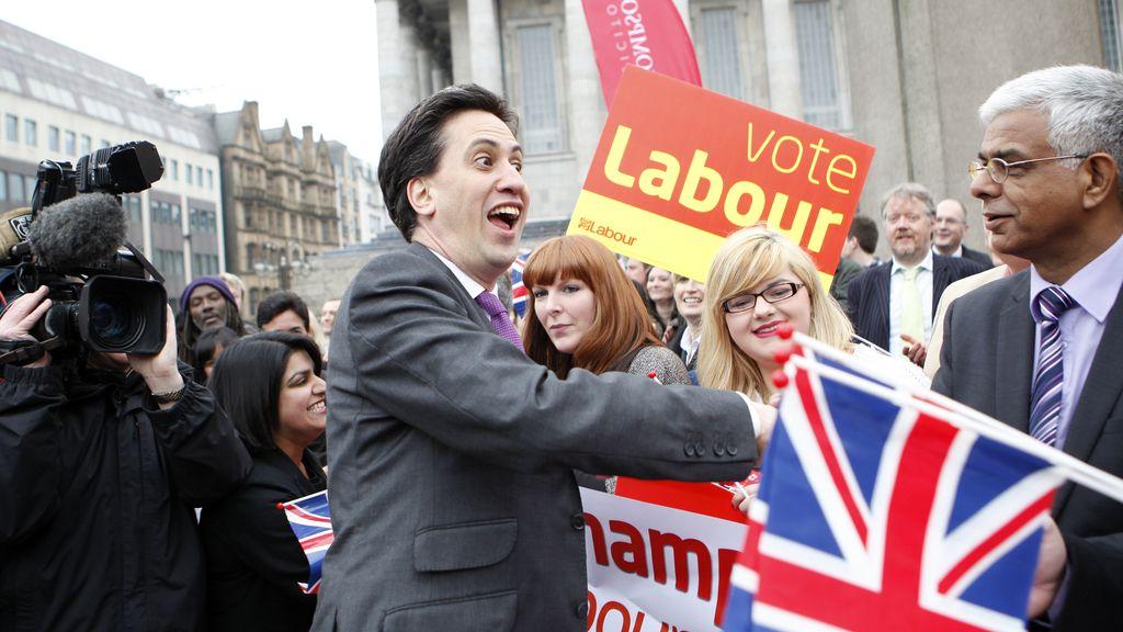 Ed Miliban, líder del partido laborista