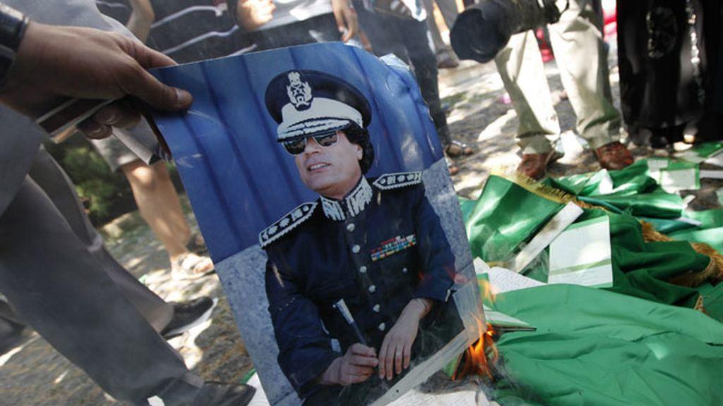 ¿El fin de Gadafi?