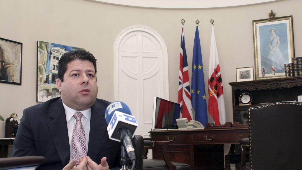 El ministro principal de Gibraltar, Fabian Picardo (EFE)