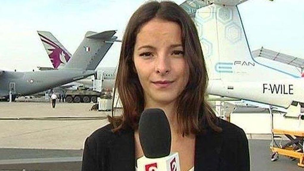 Muere la presentadora de informativos de la televisión francesa a los 26 años