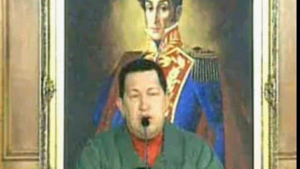 Chávez vuelve a amenazar a la filial de un banco español con la expropiación