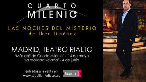 Las noches del Misterio\' de Iker Jimenez, ahora en el Teatro Rialto ...