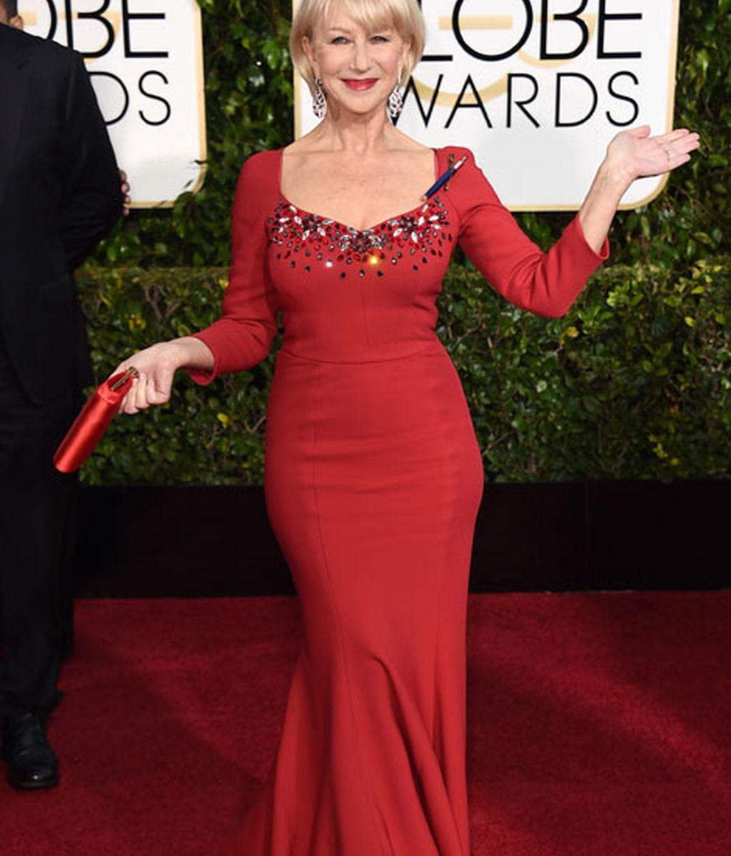 Helen Mirren de Dolce & Gabbana