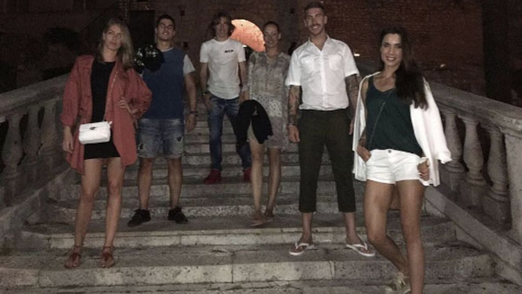 Sergio Ramos descubre los secretos de Croacia de la mano de Luka Modric