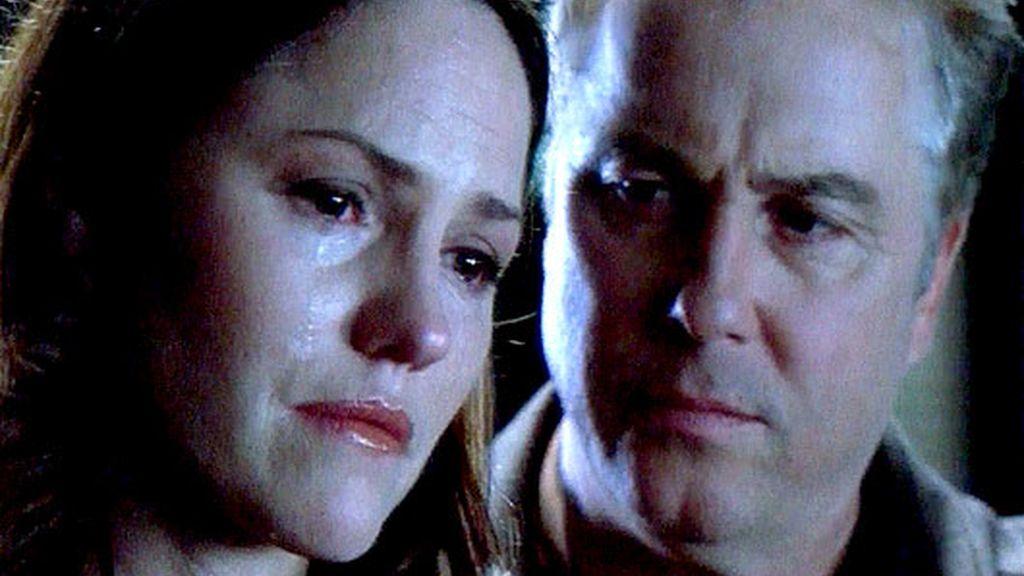 Sara y Grissom