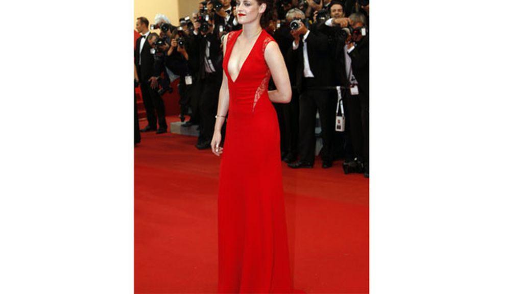 Kristen Stewart sugerente en Cannes