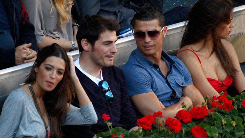 Sara Carbonero, Casillas, Cristiano e Irina