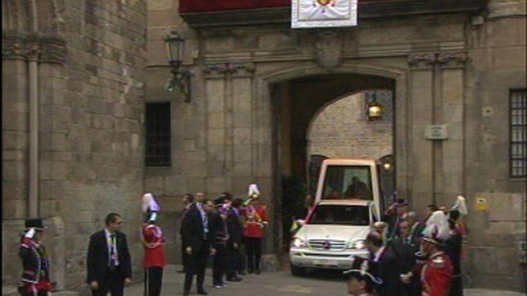 El Papa pasa su segunda jornada en España