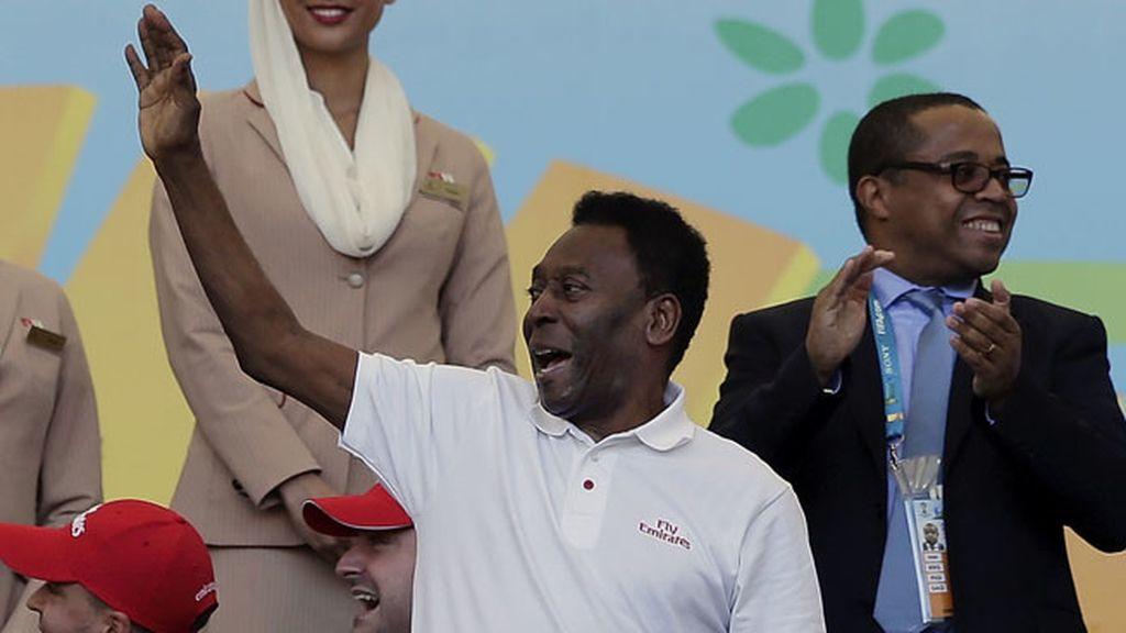 El exfutbolista Pelé no se perdió la final del Mundial