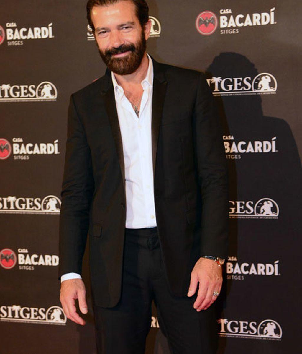 Antonio Banderas se hizo con el Gran Premio Honorífico del Festival