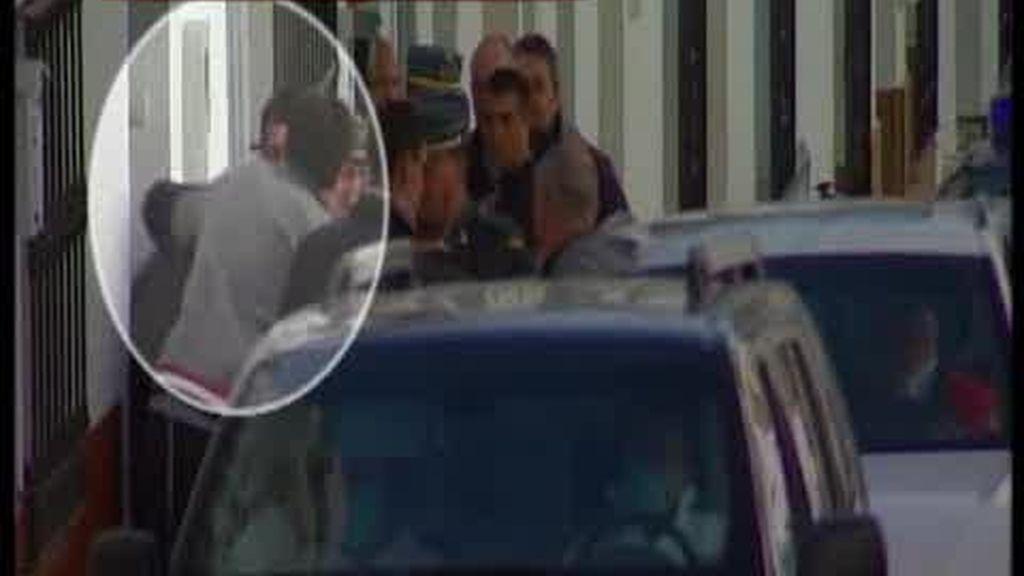 Sangre en la zapatilla del detenido por el crimen de Arriate