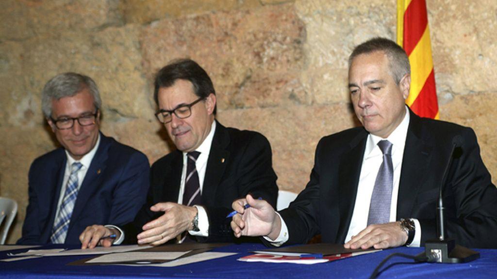 """Mas afirma que Cataluña pide """"cosas normales"""" como autogobernarse"""
