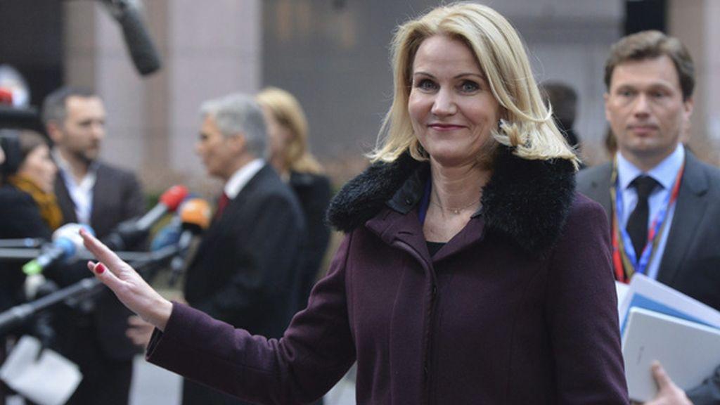 La primera ministra de Dinamarca, Helle Thorning-Schmidt