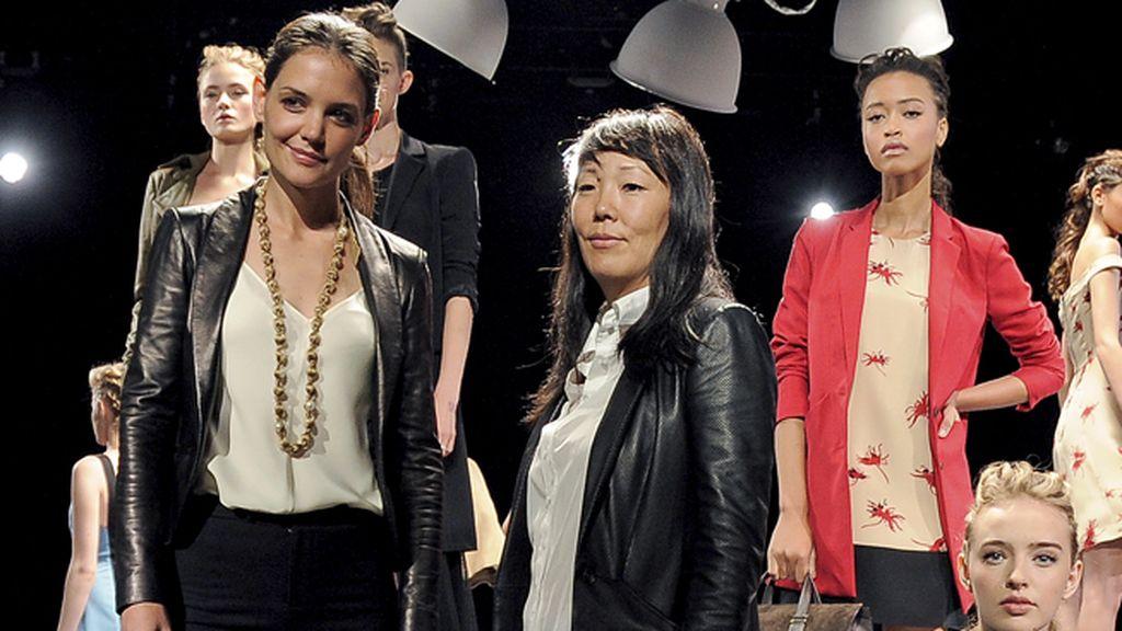 Katie Holmes y su estilista Jeanne Yang