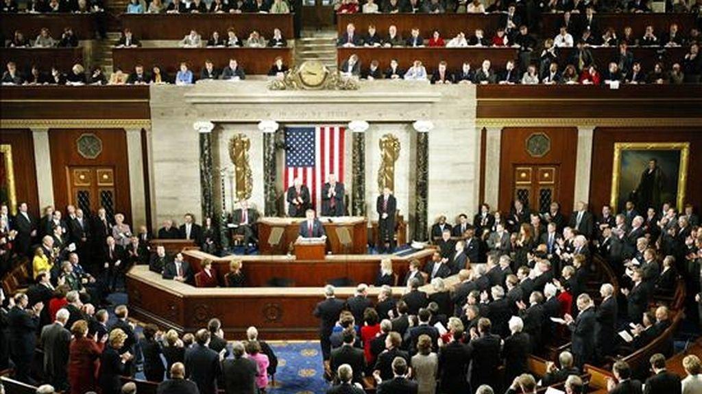 Los republicanos recuperaron el control de la Cámara de Representantes en los comicios del pasado 2 de noviembre y ahora tienen una ventaja de 241-194 sobre los demócratas. EFE/Archivo