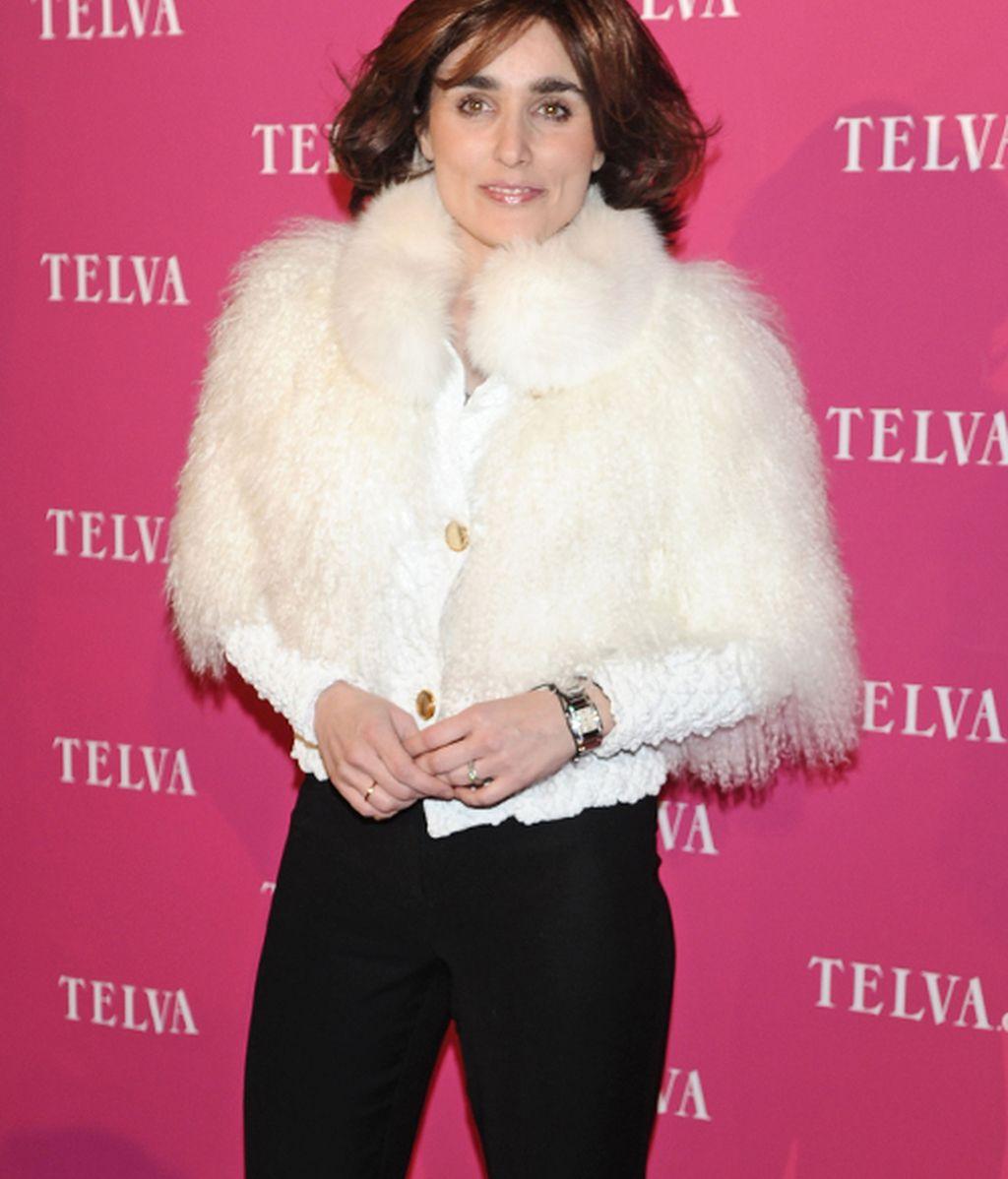 Negro y pelajes, entre las chicas de los premios Telva