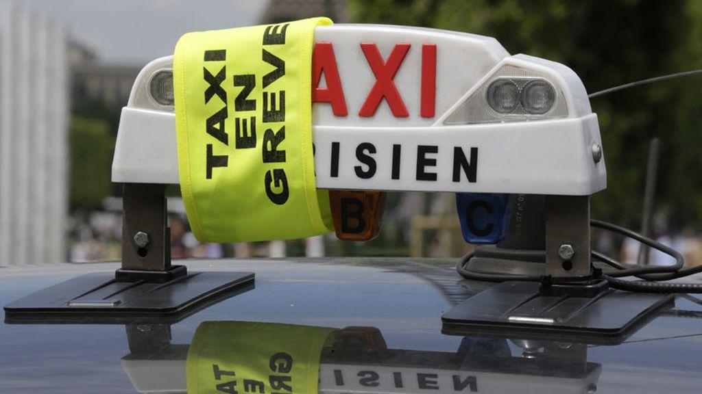 Huelga europea de taxistas