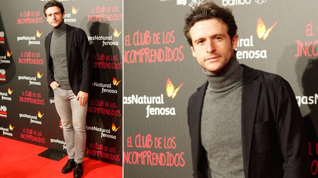 El actor Dani Martín en el 'photocall' de la película