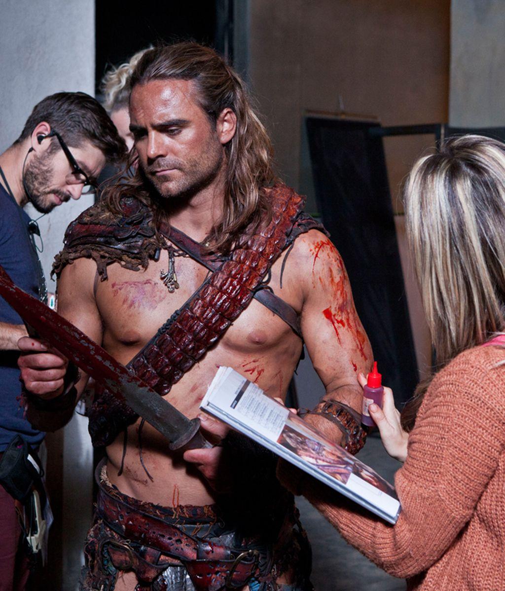 Los gladiadores de Spartacus no tienen trampa ni cartón