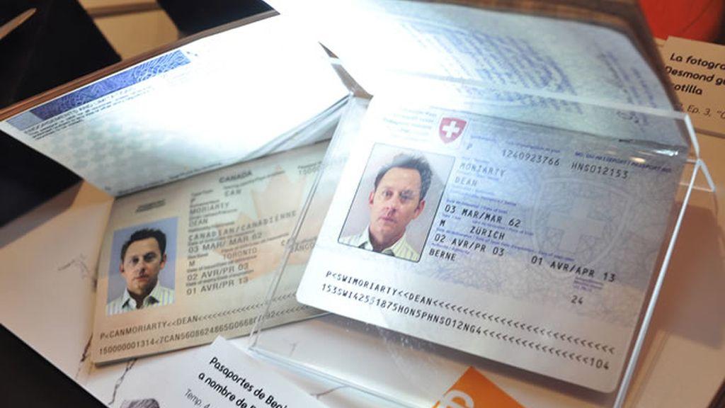 Pasaporte de Ben Linus
