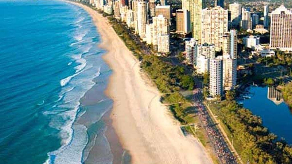 Sunshine Beach, Australia, casi 60 kilómetros de playa edificada