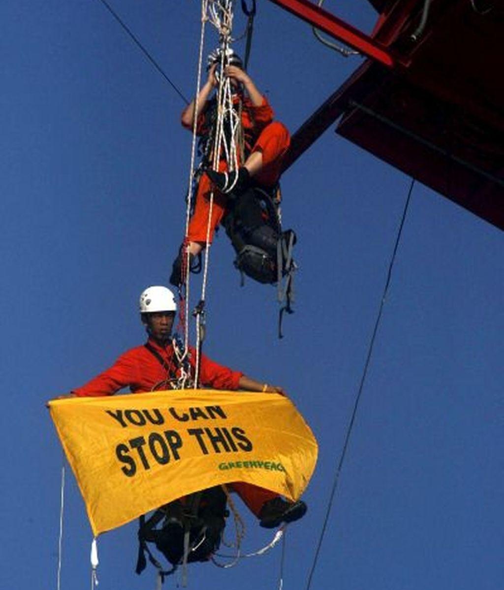 Greenpeace, en Yakarta