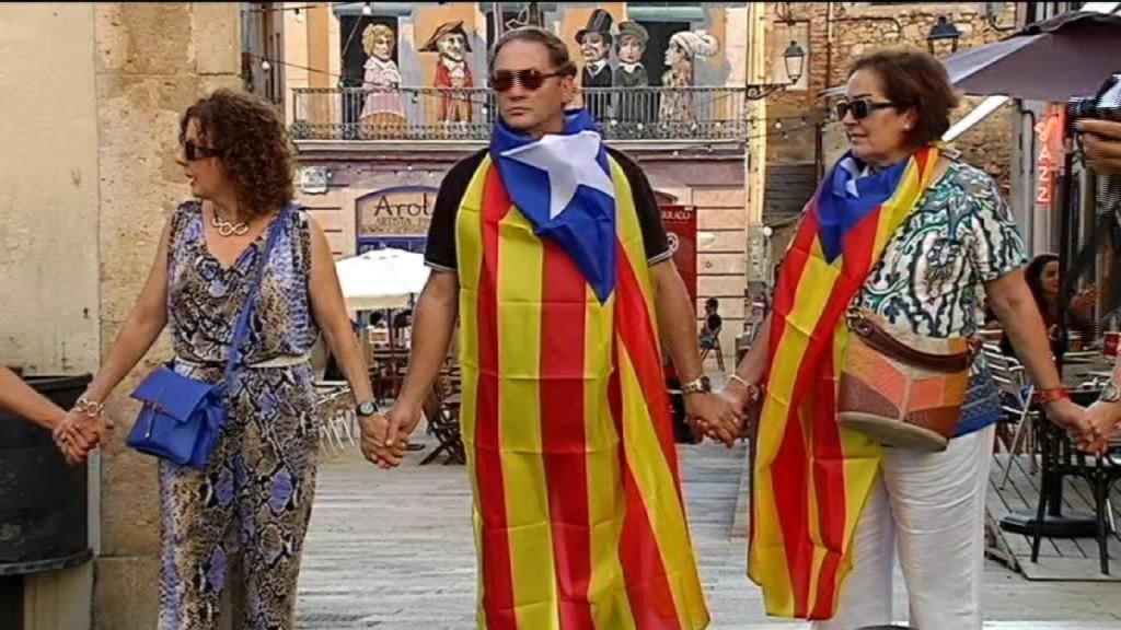 Una gran cadena humana será la protagoniasta de Diada catalana
