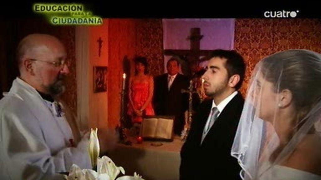 Qué no hacer si os invitan a una boda...