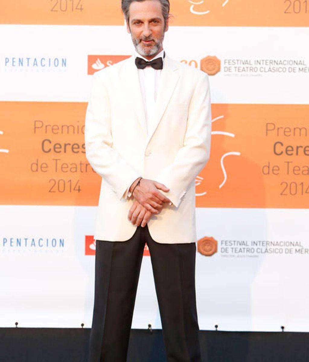 Ernesto Alteiro participó en la ceremonia de clausura