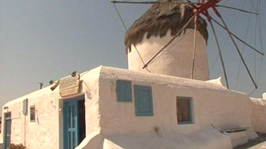 Mykonos y Santorini: Molinos de 2 millones de euros
