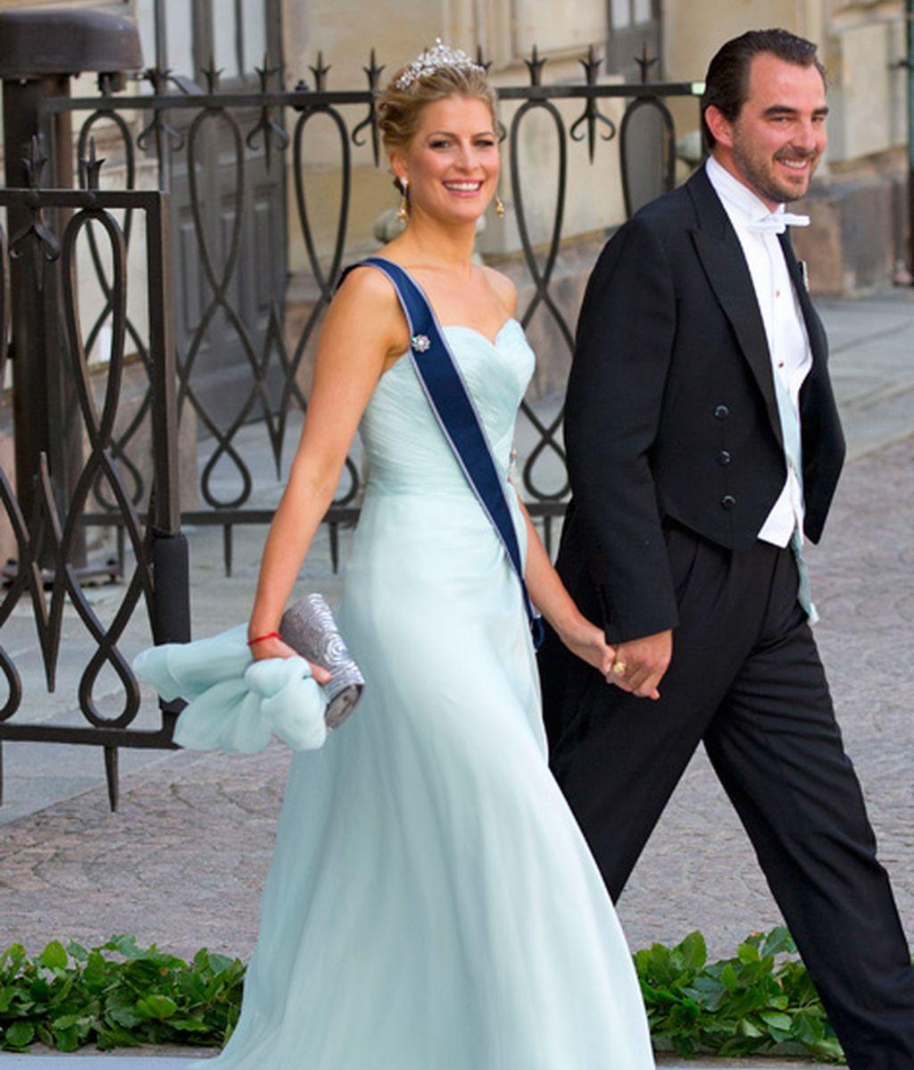 La princesa Tatiana y el príncipe Nikolaos