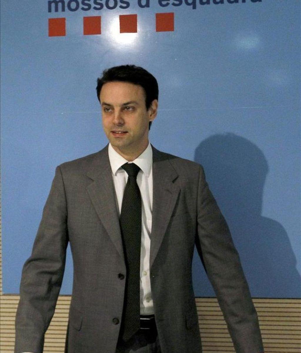 Manel Prat, jefe de los Mossos d'Esquadra