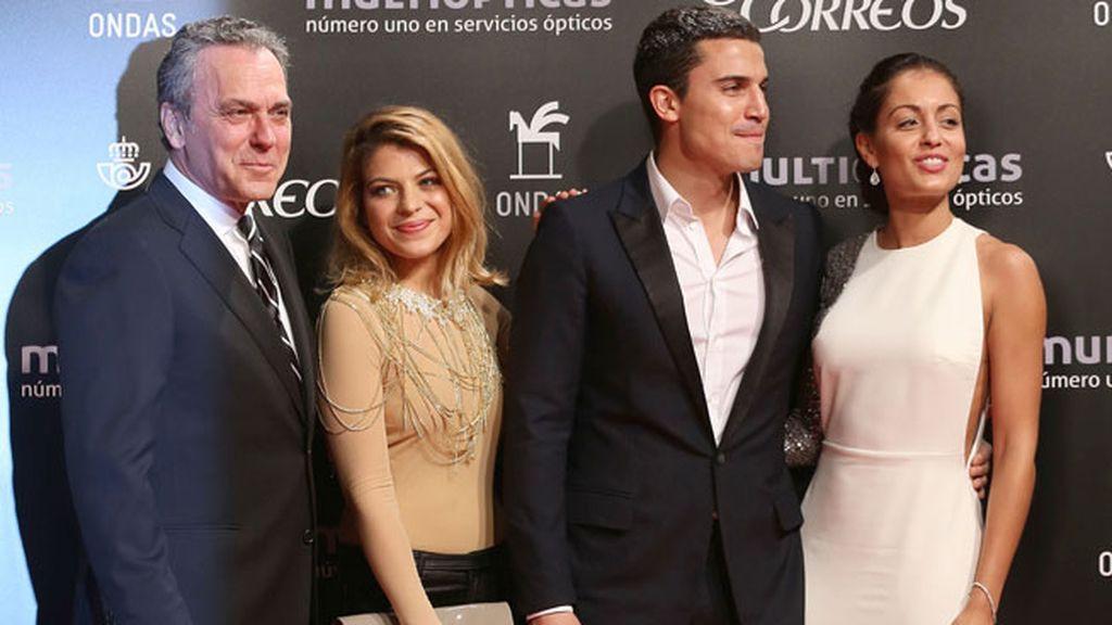 Los actores de 'El Príncipe', premiada como serie del año