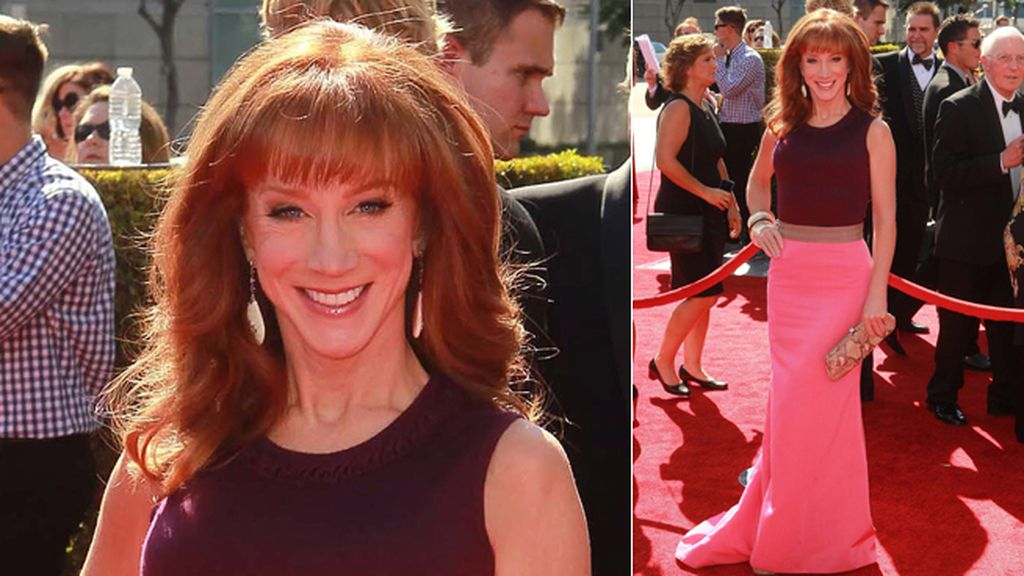 Kathy Griffin se apuntó al 'color block'