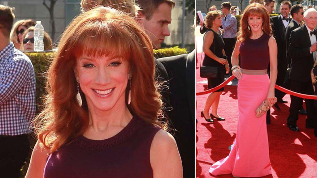 Kathy Griffin se apuntó al 'color block'