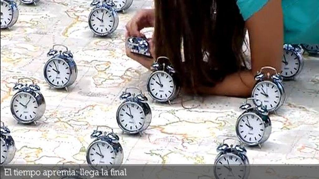 El tiempo apremia: llega la final