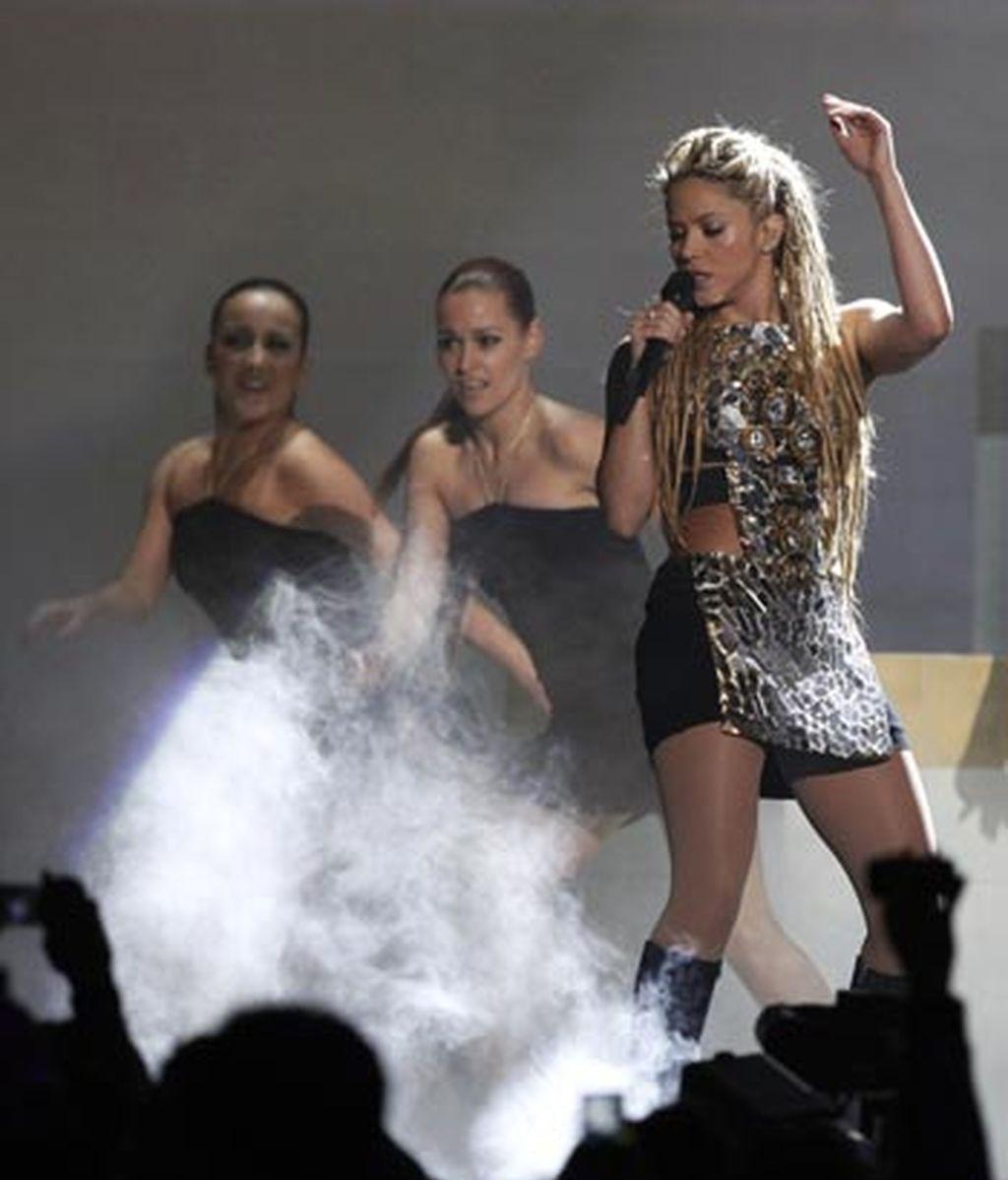 Shakira, fuerza latina