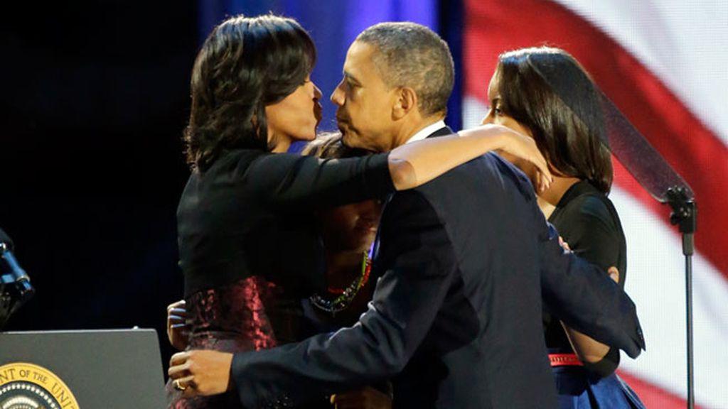 Obama, reelegido presidente de EEUU