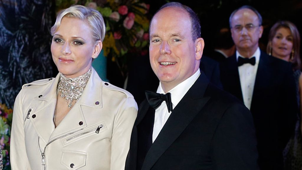 El Príncipe Alberto II y la Princesa Charlene