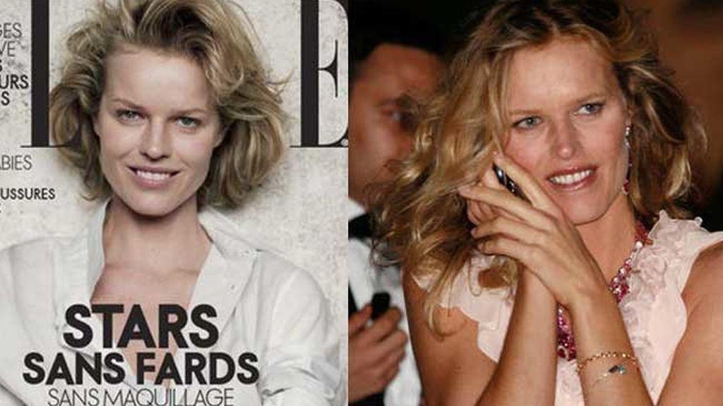 Las famosas posan sin maquillaje