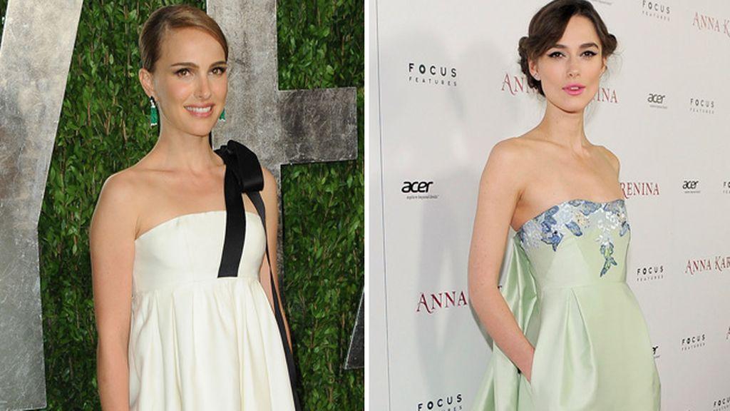 Natalie Portman y Keira Knightley