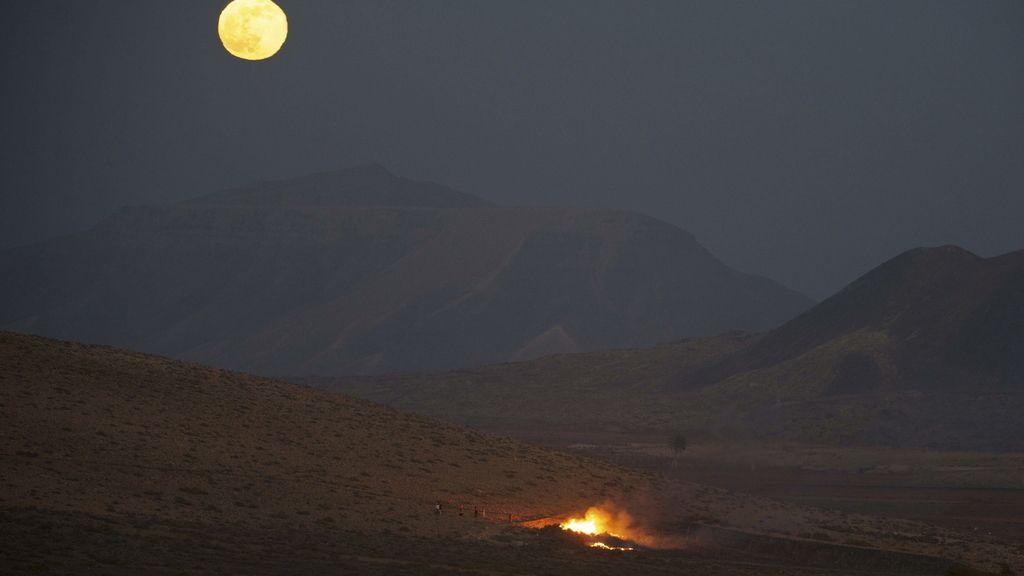 'Superluna' en Fuerteventura