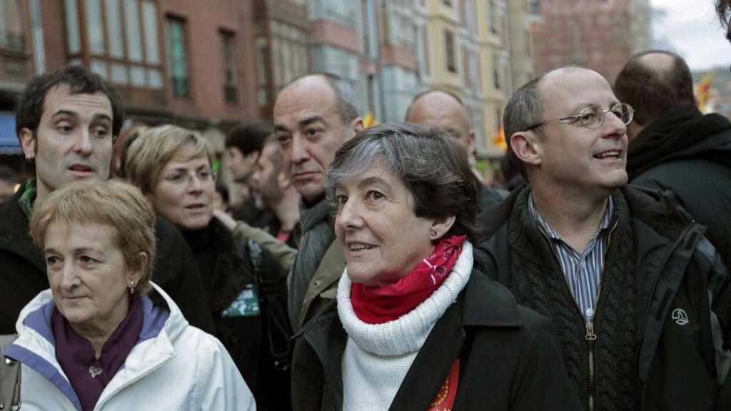 Manifestación en favor de los derechos de los presos de ETA